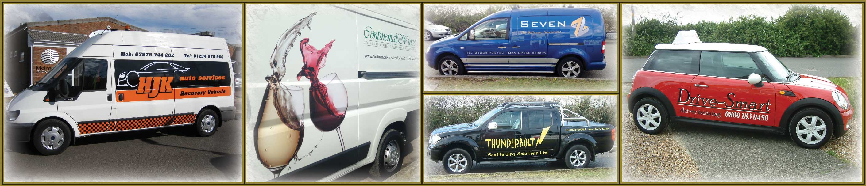 vehicle, car and van graphics and vinyls