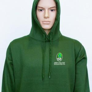 jade college classic hoodie