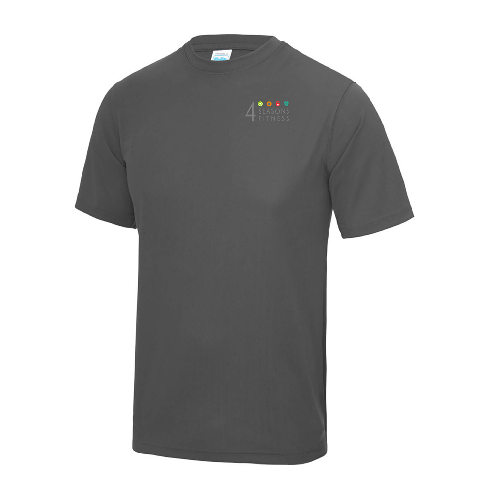 4 seasons fitness charcoal t shirt