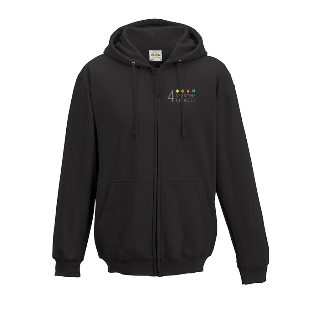 4 seasons fitness charcoal hoodie