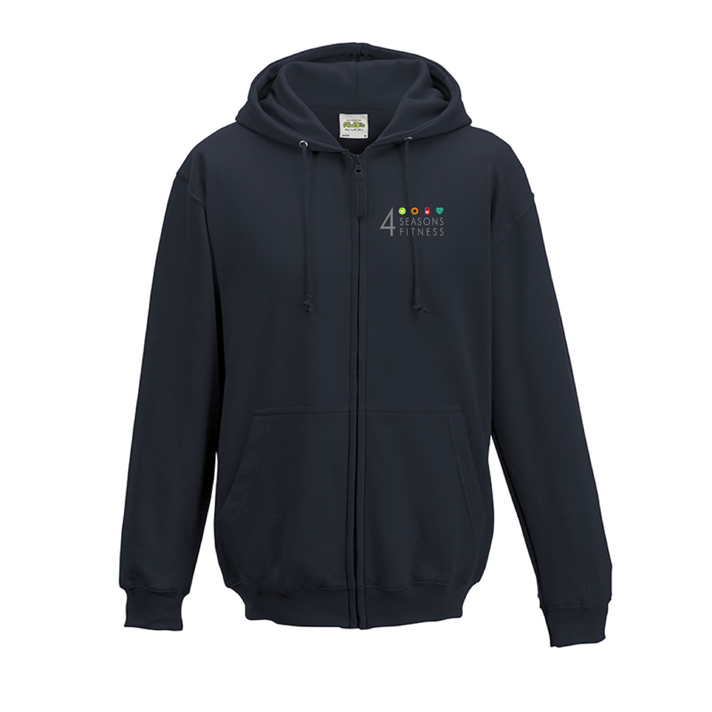 4 seasons fitness french navy hoodie