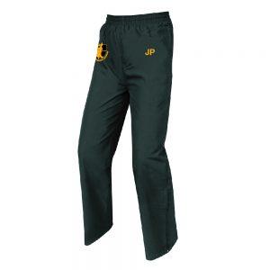 Black tracksuit pants Samuel Whitbread